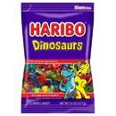 Haribo 72301 Haribo Confectionery Dinosaur 8 oz. Peg Bag - 10 Ct. Caddy