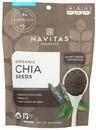 Navitas Organics 31002 Navitas Organics Organic Chia Seeds 8 ounces Per Bag - 12 Per Case