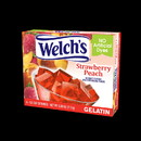 Welch's 01515 Welch's Strawberry Peach Gelatin 3.99 ounces Per Box - 12 Per Case
