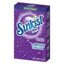 Sunkist 32404 Grape Drink Mix Singles 12-6 Count
