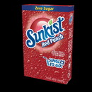 Sunkist 32407 Red Punch Drink Mix Singles 12-6 Count