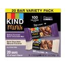Kind 27970 Salted Caramel Chocolate Nut Dark Chocolate Almond Coconut 4-14.11 ounce