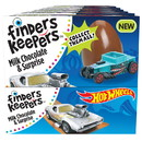 Finders Keepers Hot Wheels Milk Chocolate Candy 6-6-.7 Ounce