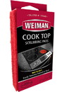 Weiman Products Cook Top Scrubbing Pad 6-3 Count