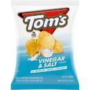 Toms 790114211 Flat Chips Vinegar Salt 9-5 Ounce
