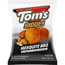 Toms 790114218 Tom's Ridges Potato Chips Mesquite Bbq 5 Oz Bag