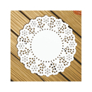 Wholesale Aspire Round Paper Lace Doilies Placemats for Party Table Decoration 4.5-5.5 Inches 140Pcs/Pack