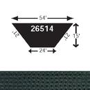 Douglas 26514 Infield Grass Protector 54' x 15' x 24', Dark Green (Standard)