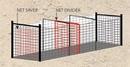 Douglas 36060 Batting Tunnel Net Saver/Divider, 12′ x 14′