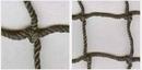 Douglas 36098 #18 Twisted Knotted Nylon Black 7/8″ SQ Mesh w/Rope Border