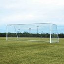 Douglas 37800 PRO Portable Soccer Goals, 4″ Round Aluminum, Official Size with 5mm Nets