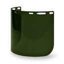 Elvex Deltuplus FS-15WS5 Weld Shade 5 Molded Cylinder Lexan® Face Shield Super Hard Coat
