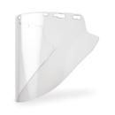 Elvex Deltuplus FS-18CL Clear Molded Cylinder Lexan® Face Shield Super Hard Coat