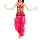 TOPTIE Kid Indian Belly Dance Costume Halloween Clothing , 3 styles of sets