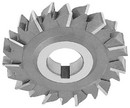 "Qualtech 2-1/8""3/8"" X 3/4"" HSS Arbor Type Keyeat Woodruff Cutter, DWCWC1217"