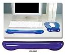 Aidata Crystal Gel Keyboard Wrist Rest - Purple
