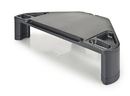 Aidata CS-1010 Corner Monitor / Laptop Stand with Smart Phone and Tablet Slot