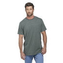 Delta Apparel 12601 Adult 4.3 oz Soft Spun Pepper Heather Tee