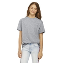 Delta Apparel 12900 Youth 4.3 oz Soft Spun Tee