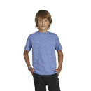 Delta Apparel 14900 Youth Retail Snow Heather Tee
