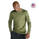 Soffe 1539MU Adult Long Sleeve Base Layer Tee - Made in the USA