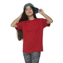 Delta Apparel 65359 Youth 30/1's Short Sleeve Performance Retail Fit Tee