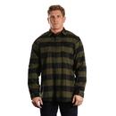 Burnside 8210 Men's Plaid Flannel Shirt