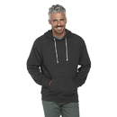 Delta Apparel 94200 Adult Unisex Snow Heather French Terry Hoodie