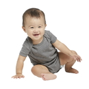 Delta Apparel 9500 Infant 1x1 Rib Snap Tee