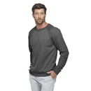 Delta Apparel 97100 Adult Unisex French Terry Crew