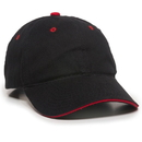 Outdoor Cap GL-645 Unstructured Brushed Twill Sandwich Cap