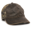 Outdoor Cap HPC-305 Weathered Cotton with Camo Cap
