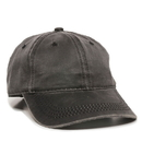 Outdoor Cap HPD-605 Weathered Cotton Solid Back Cap