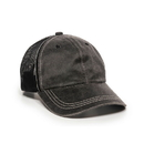 Outdoor Cap HPD-610M Weathered Cotton Solid Mesh Back Cap