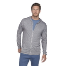 Platinum P910T Adult Tri-Blend Full Zip Hoodie
