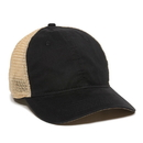 Outdoor Cap PWT-200M Washed Twill with Tea-Stained Mesh Back Hat