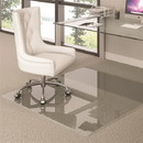 Deflecto Premium Glass Chair Mat for Multi-Surface