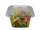 Prepack Sour Neon Gummi Worms 12/10oz, 053125