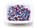 Kerry Mini Red, White & Blue Stars Shapes 5lb, 168626