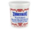 Zimmerman's Natural Peanut Butter, No Salt 6/32oz, 436086