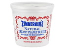 Zimmerman's Natural Peanut Butter, No Salt 6/5lb, 436091