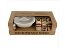 Amish Country Popcorn Microwave Popcorn Gift Bowl Set 1ea, 496830
