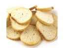 Legacy Bakehouse Garlic Bagel Chips 10lb, 523030