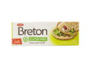 Dare Foods Gluten Free Breton Crackers, Garlic & Herb 6/4.75oz, 532770