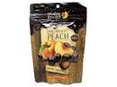 Nutty & Fruity Dark Chocolate Peach Chews 8/7oz, 559664