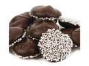 Asher's Dark Chocolate Nonpareils with White Seeds 8lb, 601371