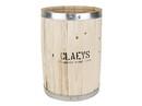 Claey's Wooden Display Barrel 18