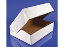 Southern Champion Automatic White Doughnut Box 12.5x9 3/8x3.25 125ct, 817207