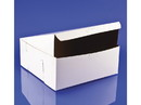 Southern Champion 10x10x4 White Bakery Box Lock Corner 100ct, 817307