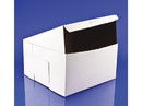 Southern Champion 10x10x5.5 White Bakery Box Lock Corner 100ct, 817310